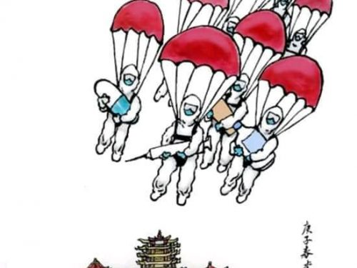 La guerra biologica degli Stati Uniti contro la Cina