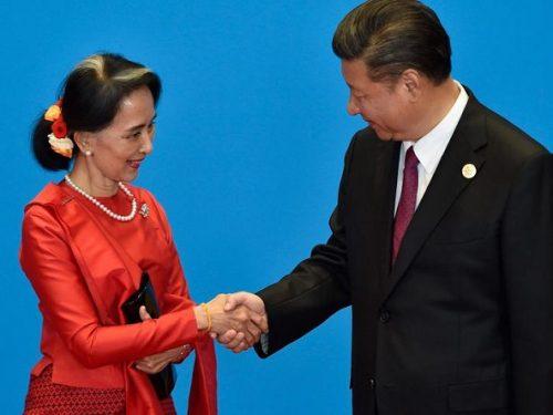 Il Presidente Xi Jinping visita il Myanmar