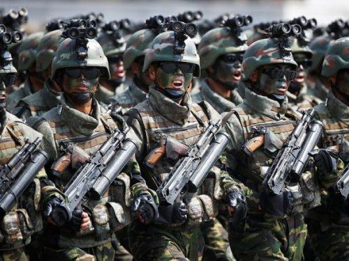 Forze speciali nordcoreane in Siria