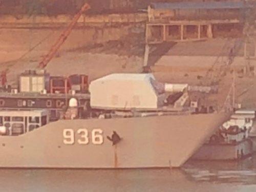 Il cannone elettromagnetico cinese è stato testato in mare