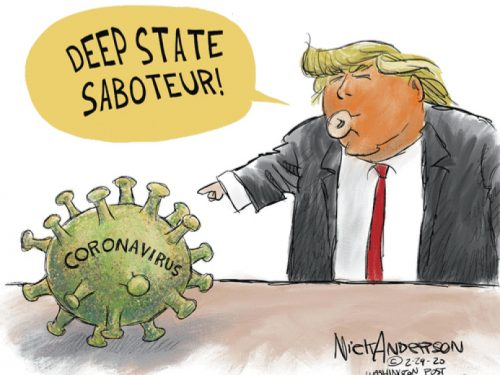 Paura, coronavirus e guerra fredda degli USA alla Cina