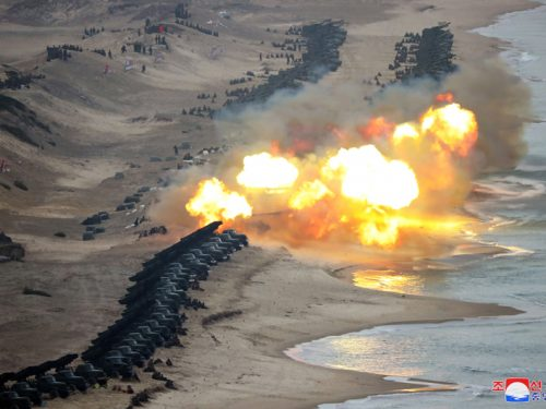 Le esercitazioni nordcoreane segnano il collasso del summit cogli USA