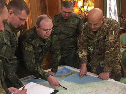 Tentativi USA di fermare gli aiuti medici della Russia all'Italia