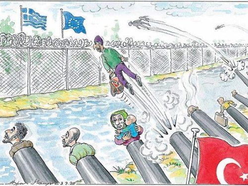 Erdogan sfrutta i migranti per ricattare l'UE e nascondere la sconfitta in Siria
