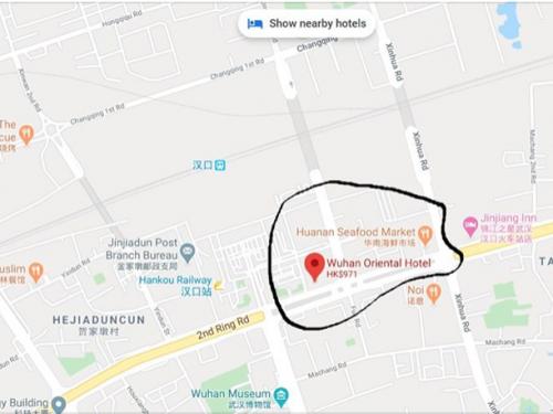 Nuove prove sul COVID-19 degli Stati Uniti a Wuhan