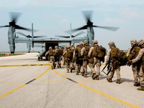 Gli USA tolgono 12000 soldati e i carri armati ai Marines
