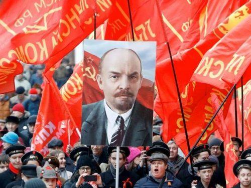 Lenin è la nostra forza, la nostra scienza e il nostro stendardo!