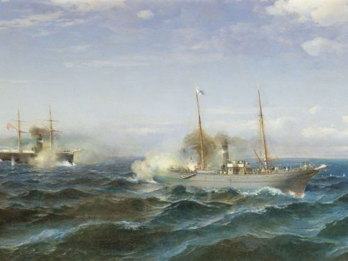 Guerra russo-turca del 1877-1878: gli incrociatori vanno in battaglia