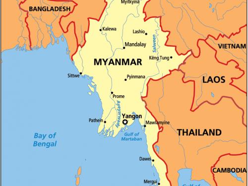 Il Myanmar si avvicina alla Cina