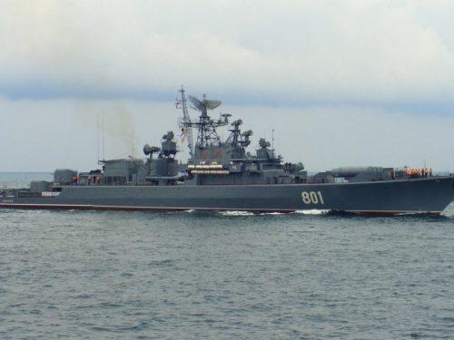 La Russia rafforza la squadra navale del Mediterraneo