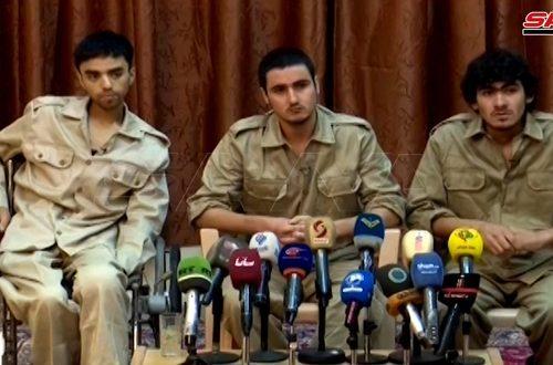 I terroristi dello SIIL confessano di aver collaborato con le forze statunitensi