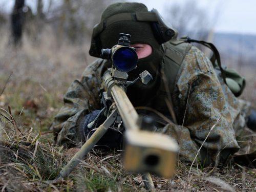 Come operano i tiratori scelti russi