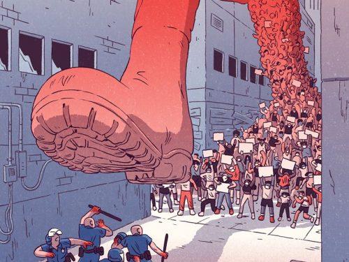 """Non sminuire i manifestanti negli USA definendone la lotta """"rivoluzione colorata""""!"""