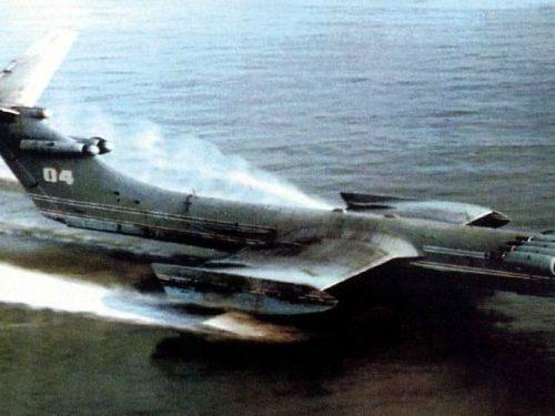 Quanto era potente l'Ekranoplan sovietico?