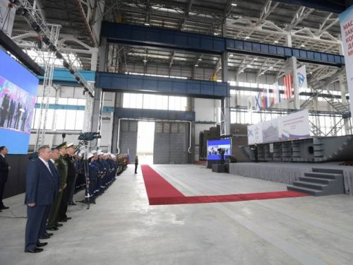 La Russia imposta nuove navi da guerra