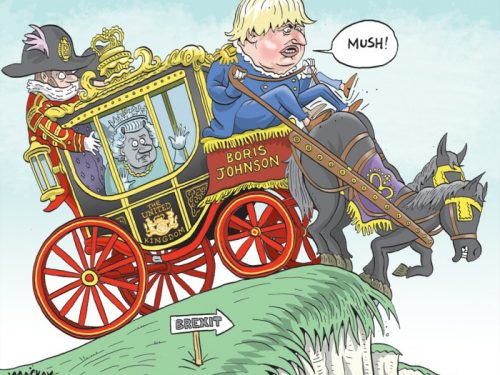 Il Regno Unito si sveglia sulla Cina