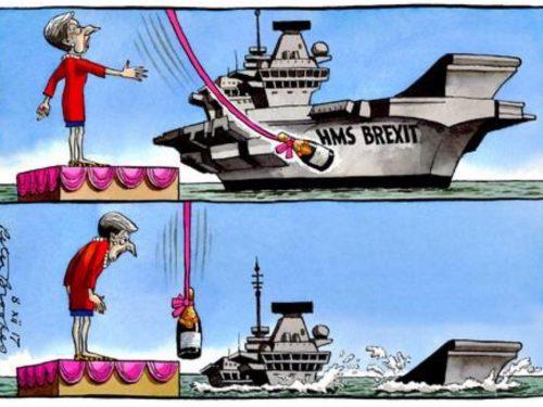 La Gran Bretagna s'illude sulla diplomazia delle cannoniere degli USA contro la Cina