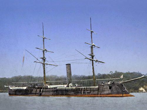 La corazzata confederata che permise la rivoluzione giapponese