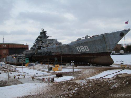 La Russia vara il più grande incrociatore del mondo