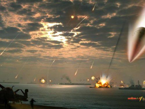 """Si spera che i missili """"antiportaerei"""" non vengano mai utilizzati"""