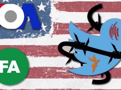 Twitter spaccia propaganda del governo degli Stati Uniti
