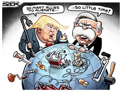 Più l'imperialismo USA declina, più il mondo si avvicina alle rivoluzioni socialiste