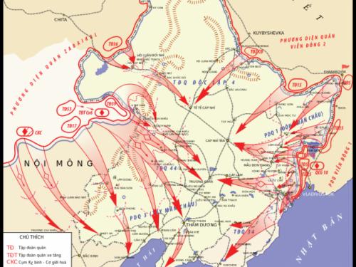 I sovietici conquistarono la Manciuria in meno di 4 settimane