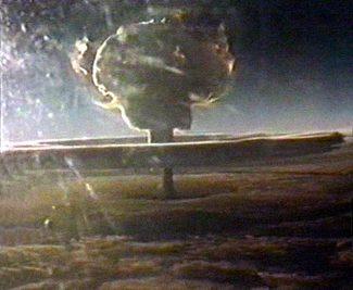 Il Test della bomba all'idrogeno sovietica da 50 MegaTon (TsarBomba)