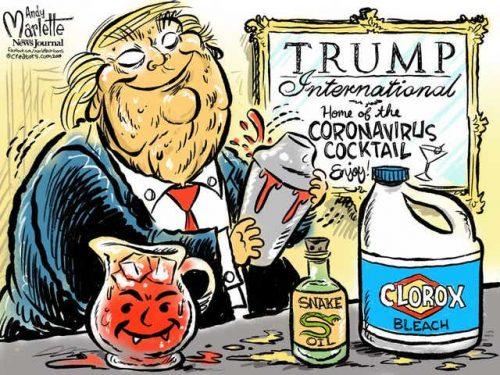 """Le bugie tossiche di Trump sul """"virus cinese"""" crollano"""