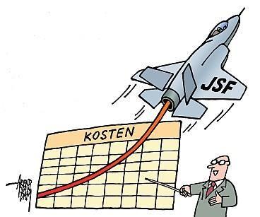 L'F-35 costa 10 miliardi di dollari di troppo