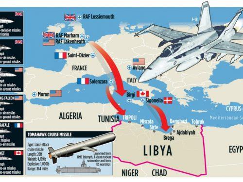 Occultare la distruzione della Libia