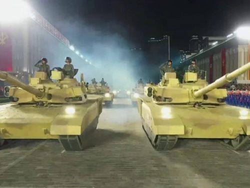 La Corea democratica svela un nuovo carro armato