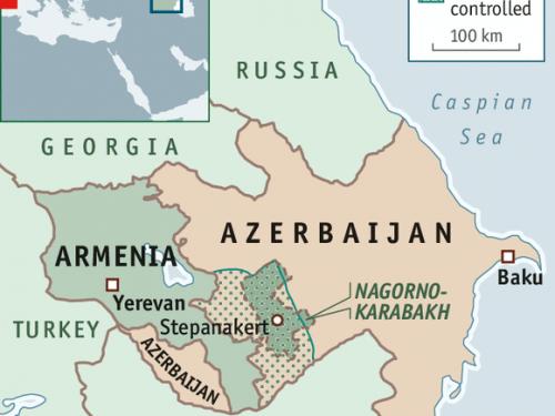 """L'Azerbaijan dichiarò di volere la """"soluzione militare"""" sulla questione del Karabakh"""