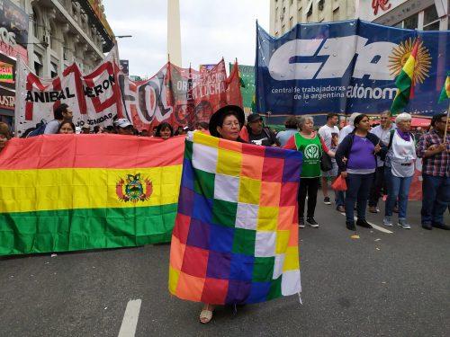 Porre fine al cambio di regime in Bolivia e nel mondo