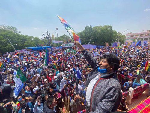 """Evo Morales: """"Non avrei mai immaginato questa accoglienza"""""""