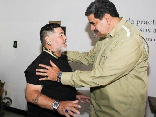 """Presidente Maduro: """"Maradona ha aiutato nelle operazioni segrete per portare cibo in Venezuela"""""""