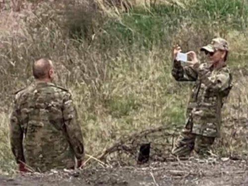 Un cecchino iraniano ha mirato il presidente azero al confine