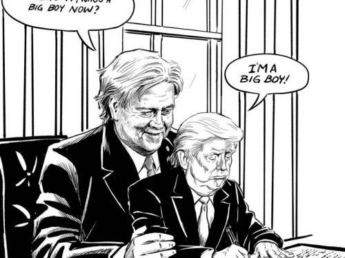 Trump punta al golpe