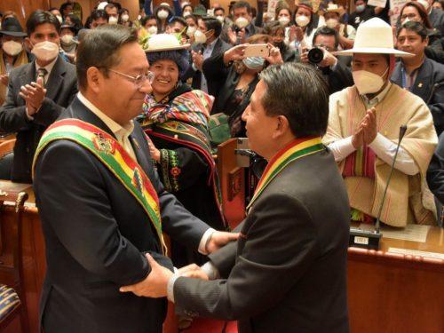 Luis Arce ha giurato da nuovo presidente della Bolivia