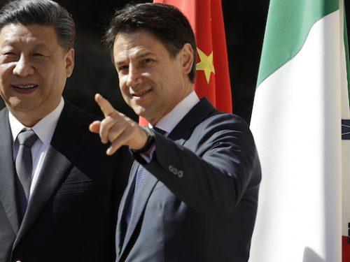 L'Italia e la crociata anti-cinese
