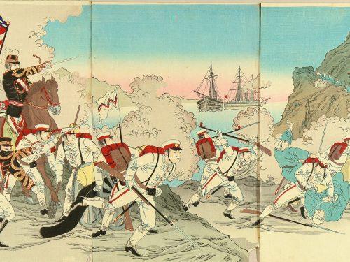 Dal Giappone all'Asia: la prima guerra sino-giapponese