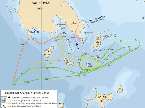 La guerra franco-thailandese del 1940-1941