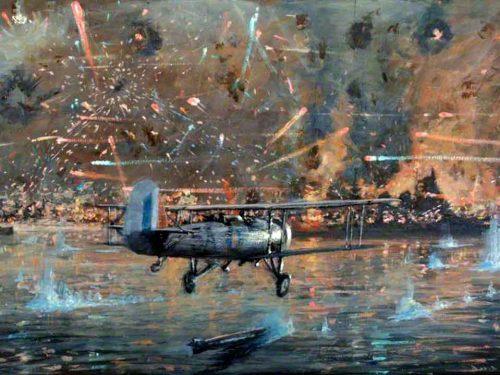 Come gli inglesi affondarono le corazzate italiane a Taranto