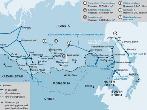 L'Europa sarà presto senza gas, inizia l'invio di gas russo in Cina