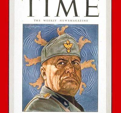 Il sostegno statunitense e britannico a Mussolini