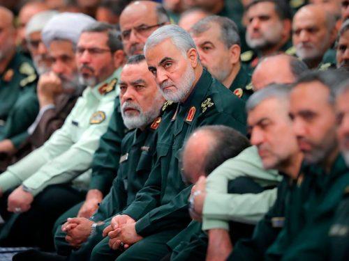 La morte di un combattente della resistenza. Tenente-Generale Qasim Sulaymani
