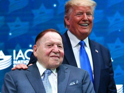 Addio Sheldon Adelson: il rospo malvagio è morto