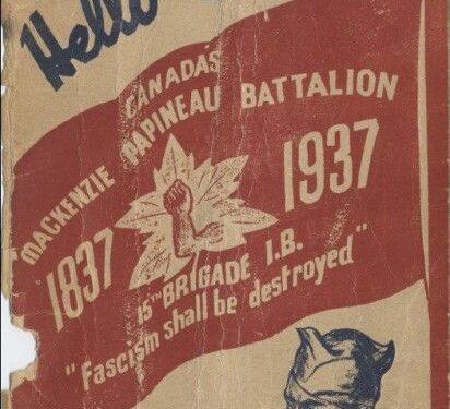 La guerra civile spagnola mostrò che il Canada non era contro il fascismo