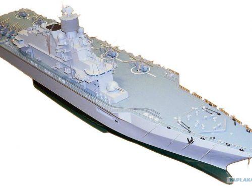 Le due portaerei d'assalto della Russia in costruzione saranno le più grandi al mondo