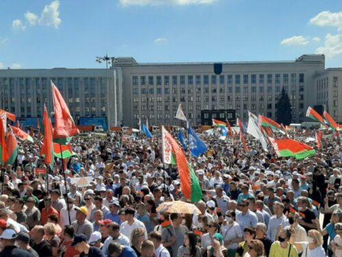 La lotta per la Bielorussia: intervista a Nadezhda Sablina